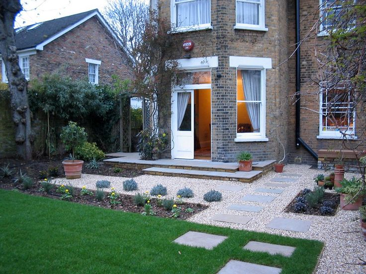 20 best front garden ideas images on pinterest front for Semi formal garden designs