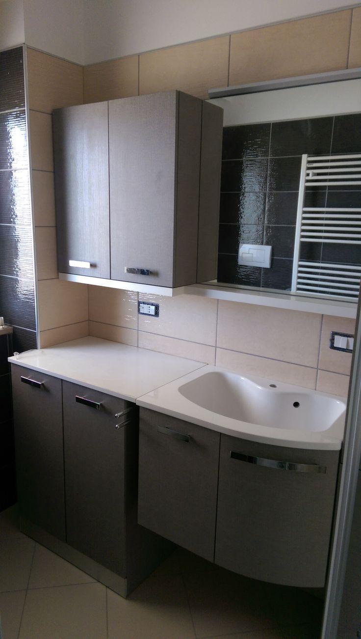 24 best mobili bagno e lavanderia images on pinterest laundry room bathroom accessories and - Mobili bagno lavanderia ...