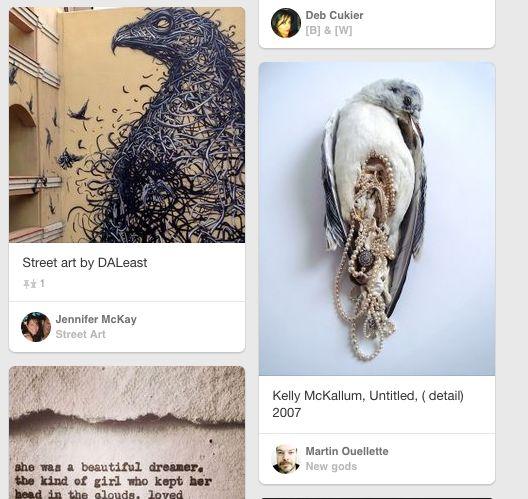 Oiseaux intenses