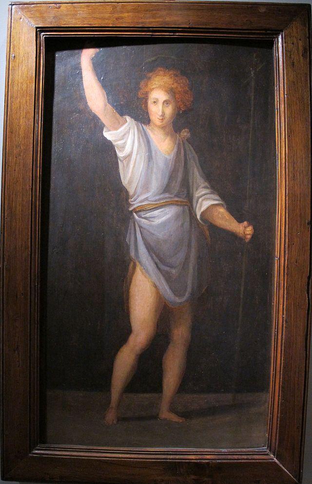 Pontormo, s.g. battista, 1514 ca. - Category:Carro di San Giovanni Battista - Wikimedia Commons