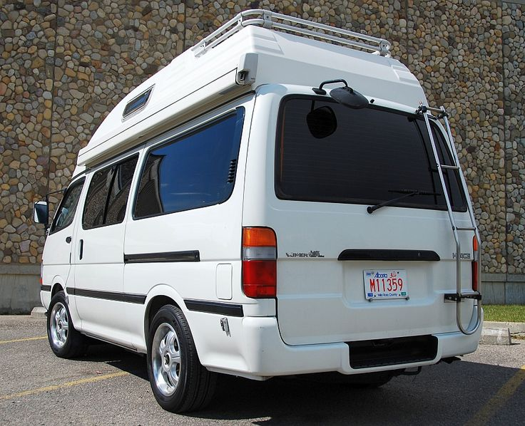 Campervans For Sale >> 1994 Toyota Hiace Diesel Camper For Sale Calgary Canada | Campervans! | Pinterest | Toyota hiace ...