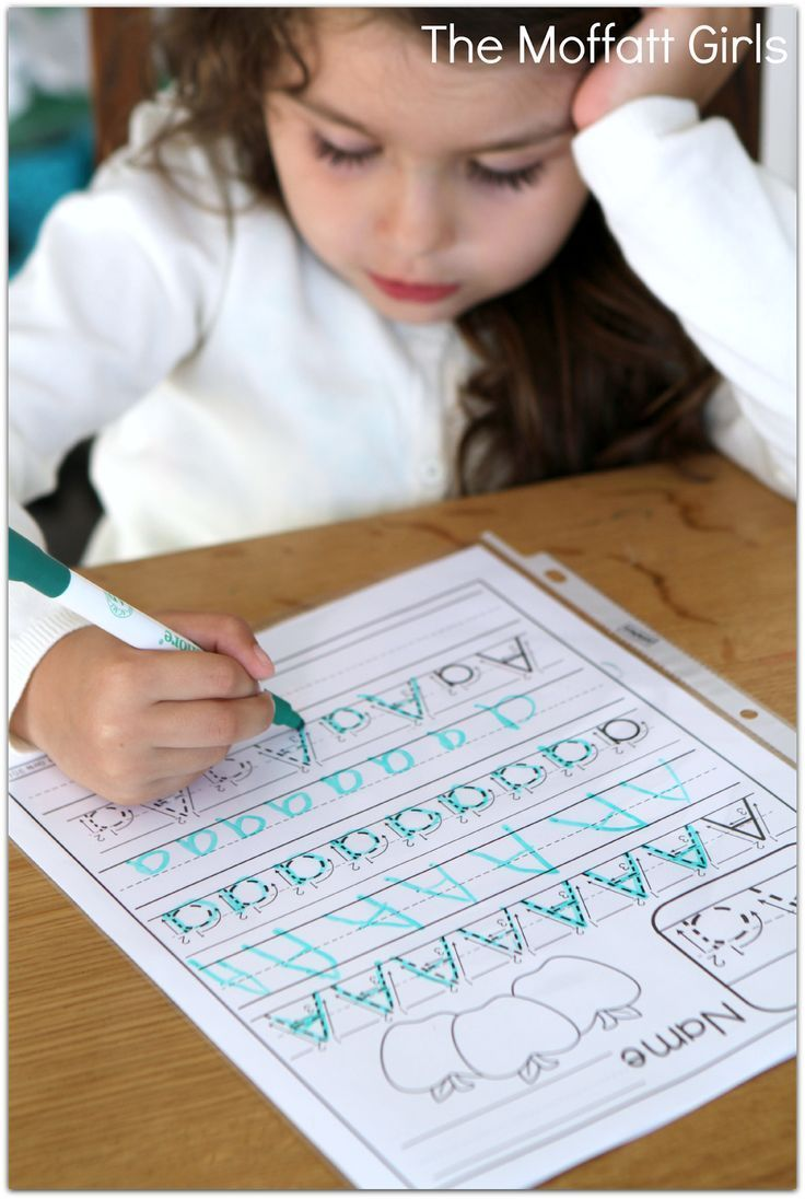 FREEFREE.FREE A-Z Handwriting sheets! Just print, place in sleeve protectors and use with a dry erase marker!