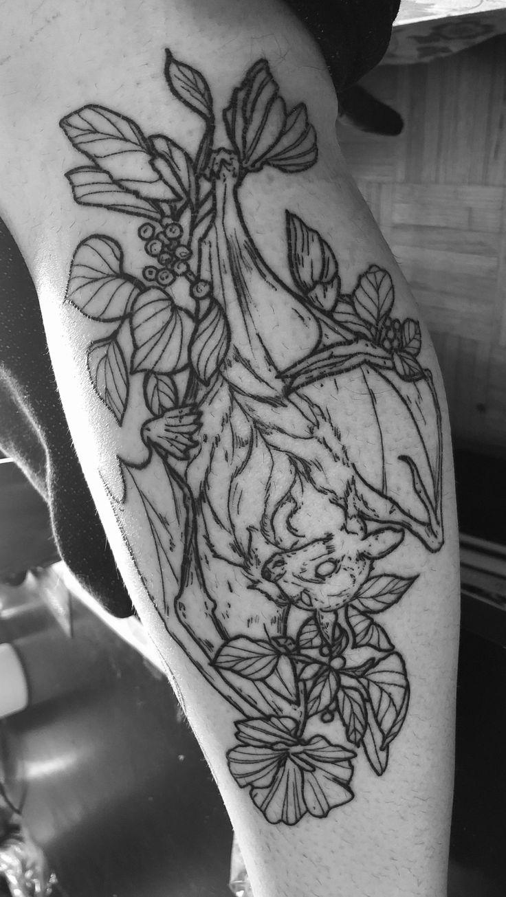 Batty tattoo artist rowan_aurora on instagram tattoo