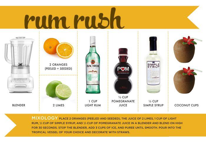 rum rush ,: Rush, 124 Ms Lillian Rum, Adult Beverages Food, Drinks Beverages, Drank Beverages, Drinks And, Food Drinks