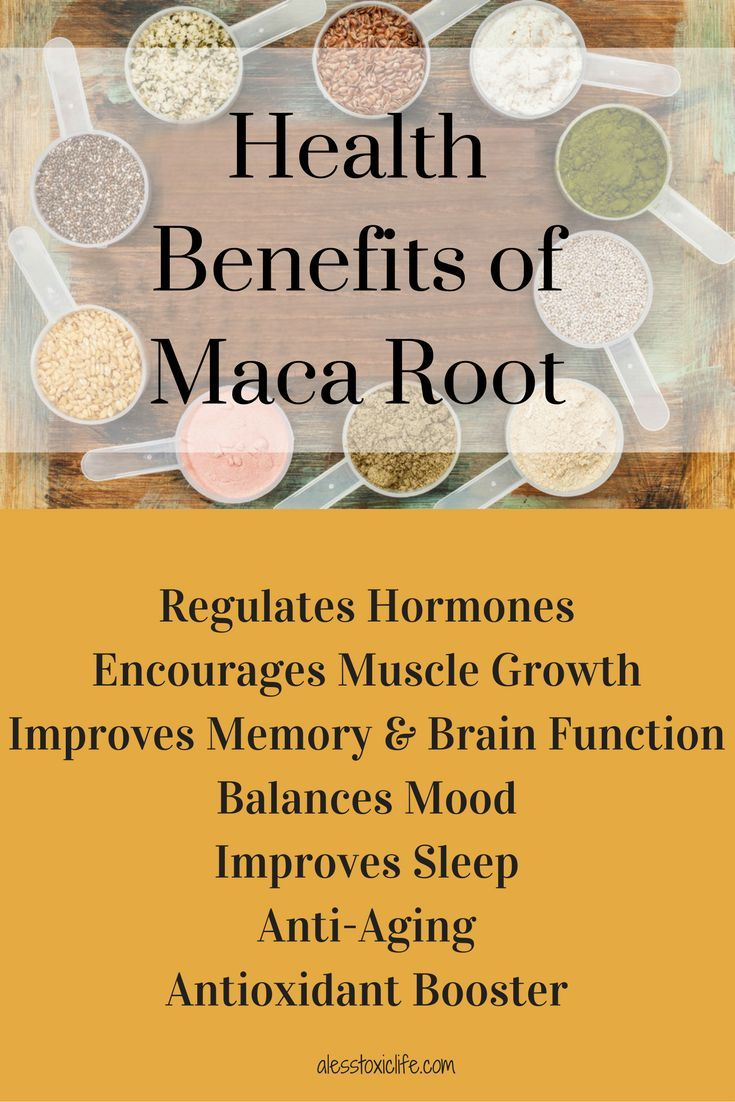 Health Benefits of Maca Root I found the easiest way to get Maca is in Ionix Supreme. Along with other adaptogens and nutrients.