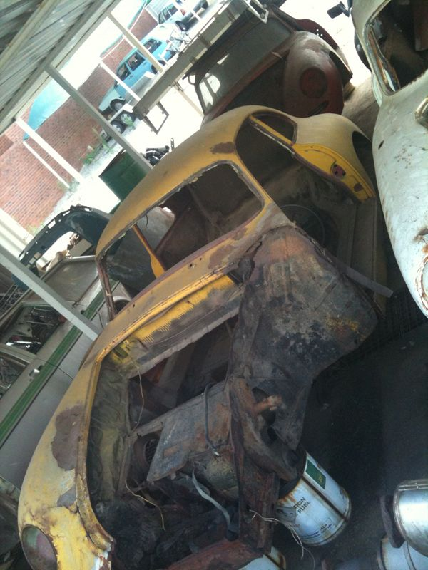 The Ultimate Barn Find See More Donor Cars