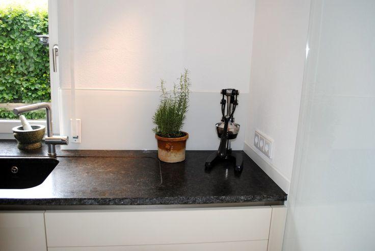 Spritzschutz für Ihre Küche - Rückwände aus Glas