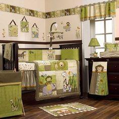 La ropa de cama es uno de los temas más populares de la decoración infantil. Y si es con animales de la selva -como los tigres, monos, elefantes, y más..
