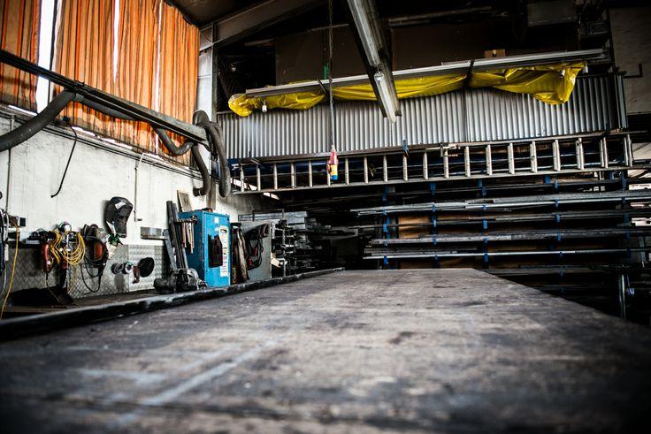#Arbeitsplatz #Metallbauer