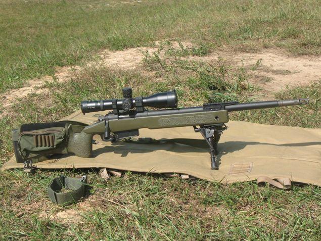 M-40A5 sniper rifle 7,62  sustituido por Remington 700 en todas sus versiones