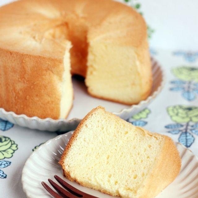 失敗しない♪米粉と豆乳のシフォンケーキ