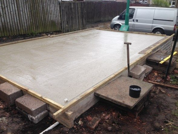 Best New Cement And Brick Foundations For A Garage By Garage 400 x 300