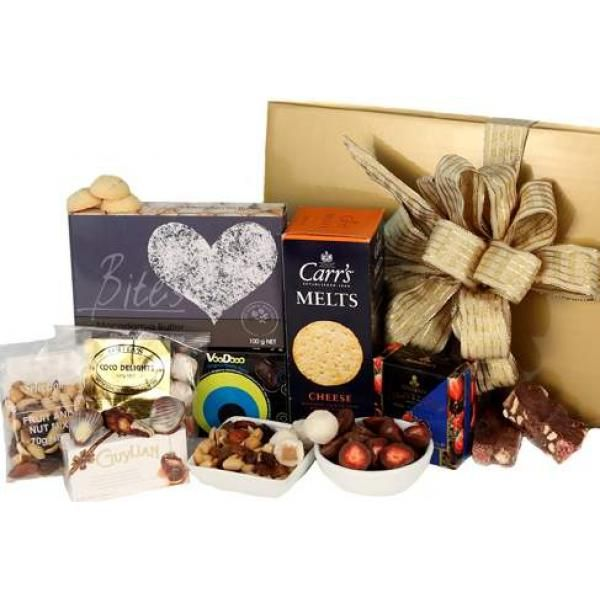 Sweet And Savoury Gift Hamper In 2020 Gift Hampers Food Gift Baskets Unique Gift Baskets