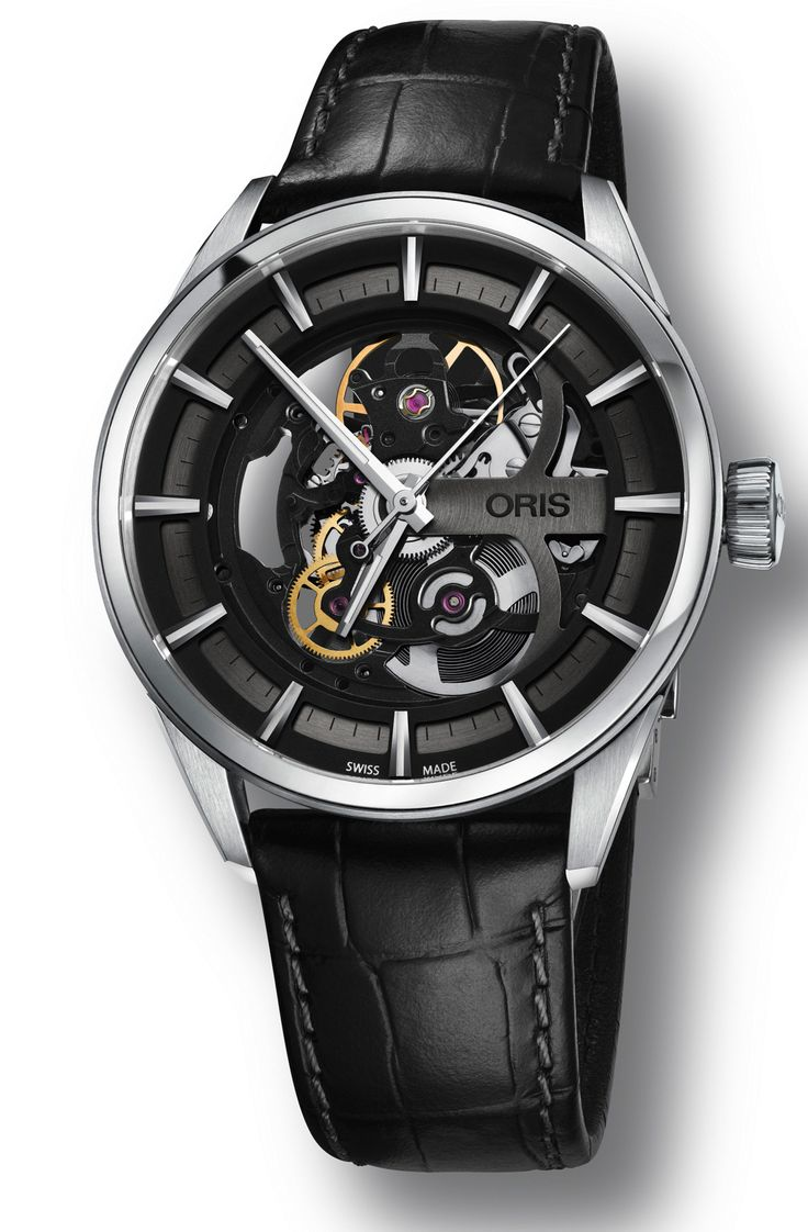 "#Oris presents its new ""Artix Skeleton"" #Watch February 2016 ---"