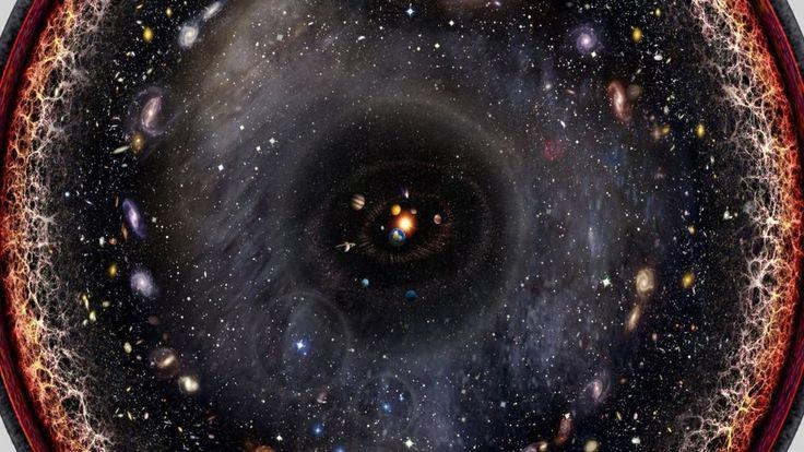 """""""Das Universum (von lateinisch universus """"gesamt""""), auch der Kosmos oder das Weltall genannt, ist die Gesamtheit von Raum, Zeit und aller Materie und Energie darin. Das beobachtbare Universum beschränkt sich hingegen auf die vorgefundene Anordnung aller Materie und Energie, angefangen bei den elementaren Teilchen bis hin zu den großräumigen Strukturen wie Galaxien und Galaxienhaufen.   #arte doku #deutsch #documentary #doku #Doku HD #Dokumentation #einstein #galaxie do"""