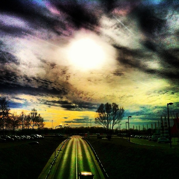 Road to nowhere - near stadium FC Twente Enschede @marcel_tettero- #webstagram