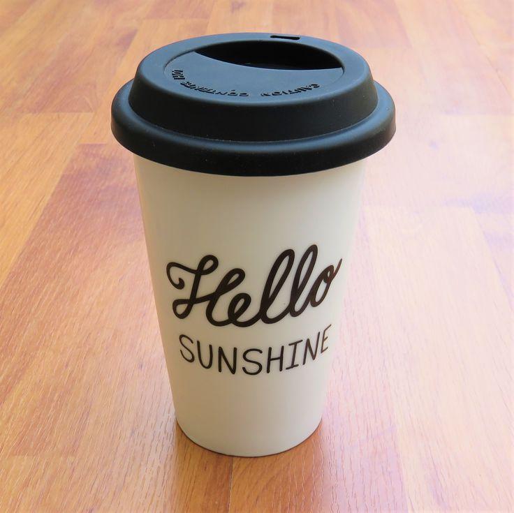 Mug Voyage tumblr Citation Hello Sunshine Sass Belle La Caverne Arc en Ciel