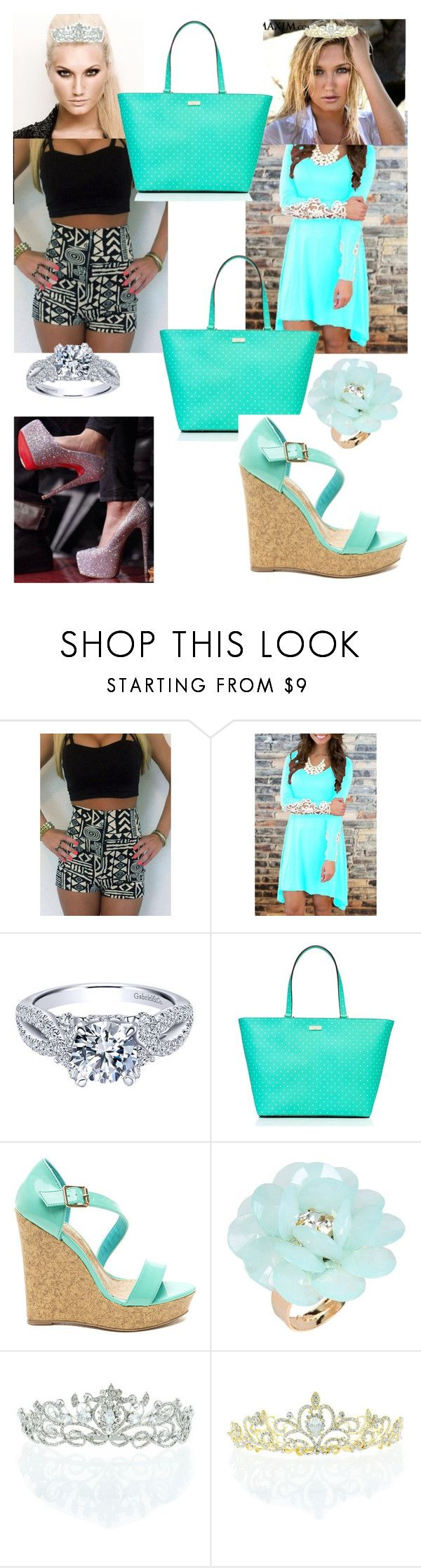 """""""Brooke Hogan's twin sister and d-von Dudley wife"""" by donald3600 ❤ liked on Polyvore featuring Hogan, Kate Spade, Dettagli, Kate Marie, women's clothing, women, female, woman, misses and juniors"""