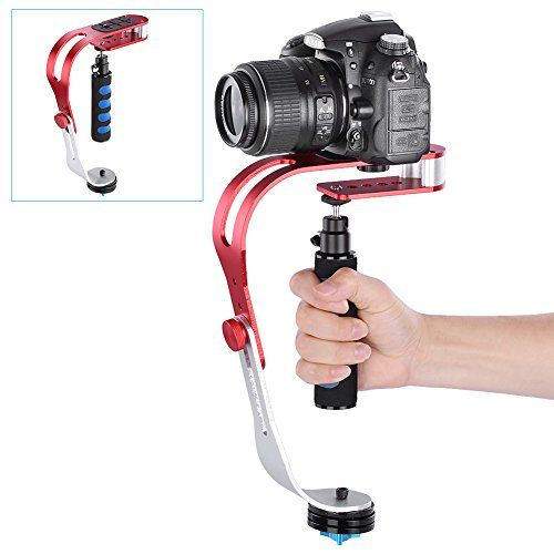 Neewer® Handheld Video Camera Stabilizer Steady, Perfect for Smartphone, GoPro1/2/3/3+/4, Canon, Nikon and Other DSLR Camera up to 3.3lbs/1.5kg With Smooth Pro Steady Glide Cam - Red + Blue Neewer http://www.amazon.ca/dp/B00X5PYW9W/ref=cm_sw_r_pi_dp_v.Gtwb0N1A4CD