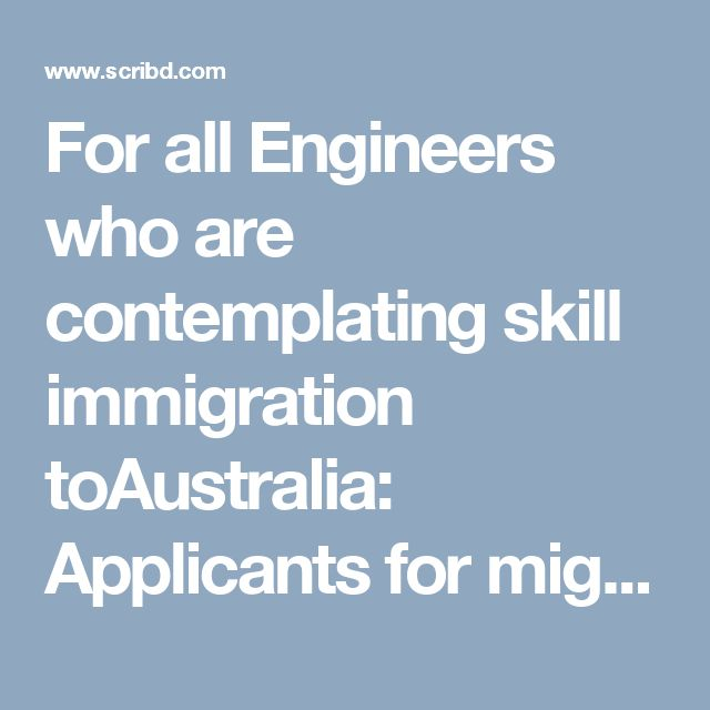 For all Engineers who are contemplating skill immigration toAustralia: Applicants for migration skills assessment with the Engineers Australia  need to submit three vocation scene stories, so whether they do have at any rate some level of past work understanding or they gloat a rich profession loaded with contributions in extensive scale ventures, picking the correct stories should dependably be done concurring a particular criteria.