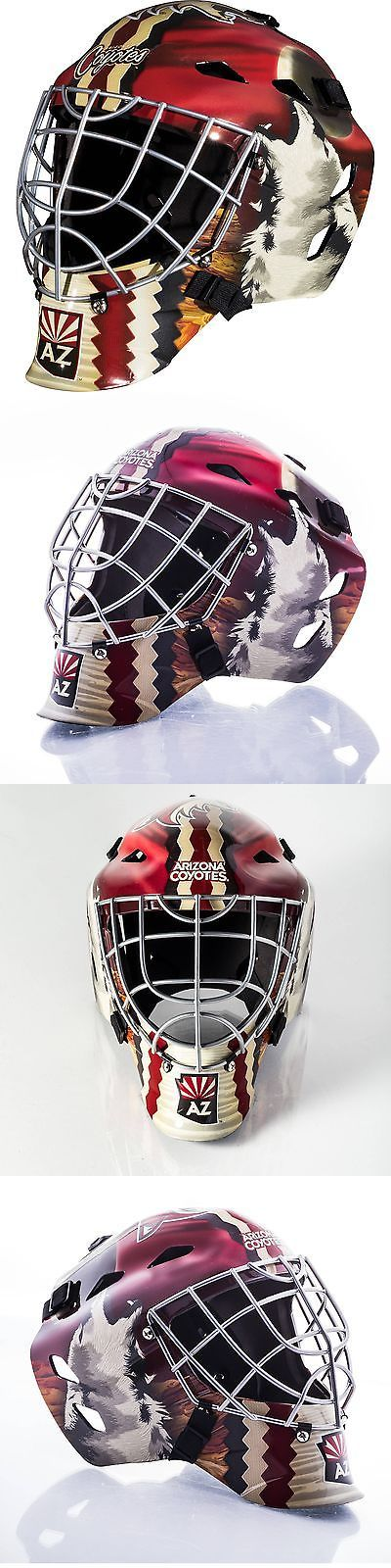 Face Masks 79762: Franklin Sports Gfm 1500 Goalie Face Mask Phoenix Coyotes -> BUY IT NOW ONLY: $45.99 on eBay!