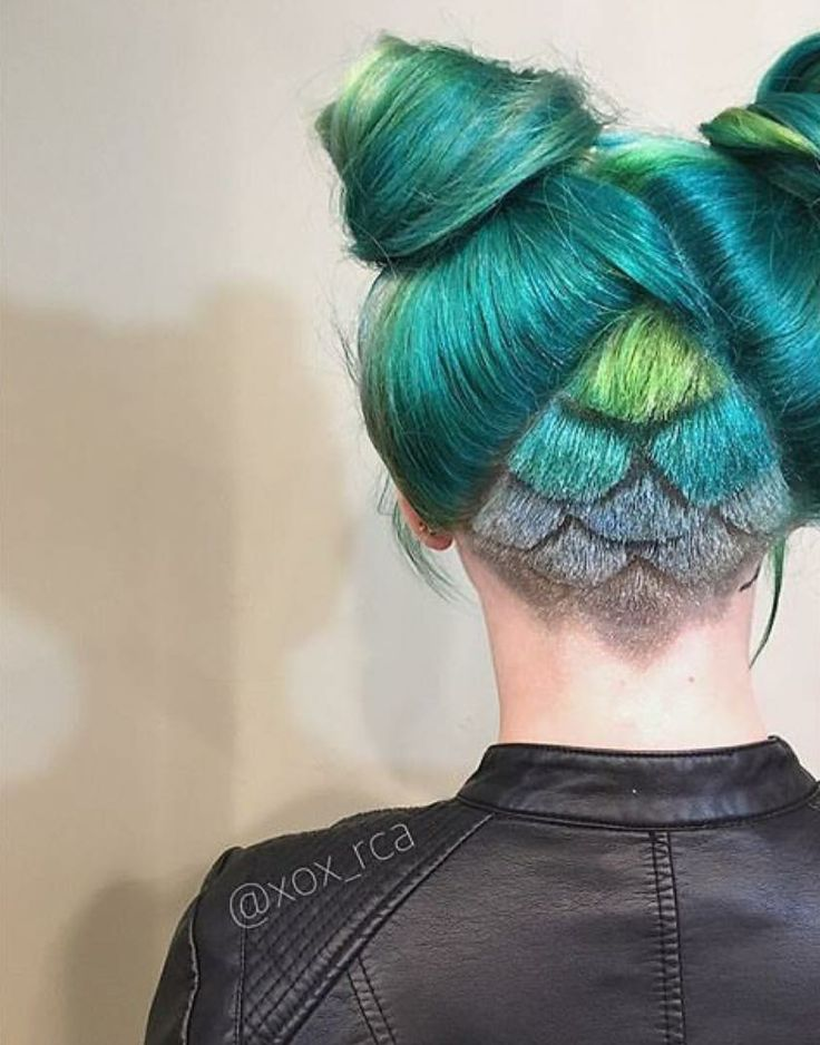 Mermaid Hairstyles 40 summertime braids youll instantly love Mermaid Scales By Xox_rca