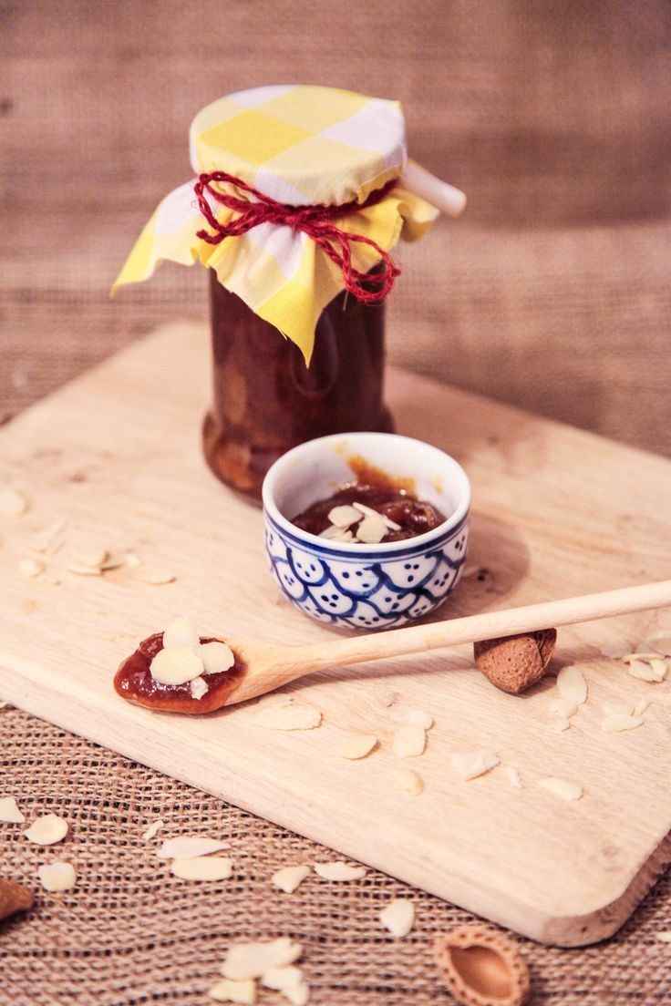 Easy Spiced Mirabelle Plum Jam with Almond Flakes | Berries and Spice
