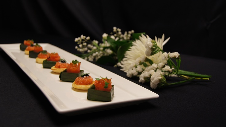 Salmon Two Ways - Events at the Sony Centre. #wedding #venue #Toronto