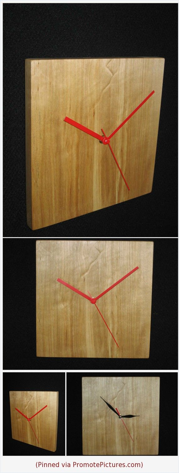 Wood Clock | Wooden Clock | Wall Clock | Square Wall Clock | Large Wall Clock | Clock gift | Kitchen Clock | Unique wall Clock | Alder Clock https://www.etsy.com/Korolyok12/listing/584235100/wood-clock-wooden-clock-wall-clock?ref=shop_home_active_1  (Pinned using https://PromotePictures.com)