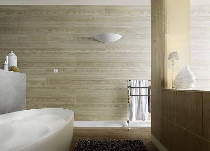 Attitude pino nordico talpa la gamma attitude lascia - Lambris pvc grosfillex salle de bain ...
