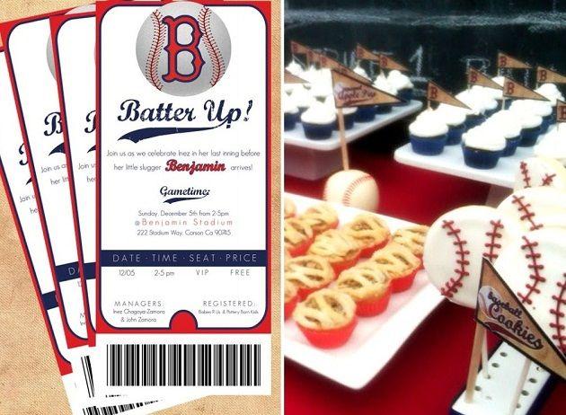 Baseball Party... Love the invites