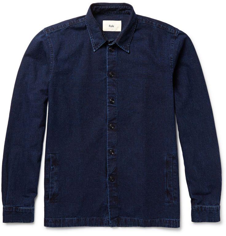 Folk - Denim Shirt Jacket MR PORTER