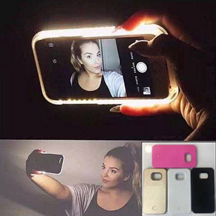 Pas cher Lumineux Selfie cas de lumiamp;egrave;re LED lumineuse cas de couverture arriamp;egrave;re de tamp;eacute;lamp;eacute;phone pour Samsung Galaxy S6 bord plus S6 S6 bord de bord S5 ABNC32, Acheter Tamp;eacute;lamp;eacute;phone sacs et amp;eacute;tuis de qualité directement des fournisseurs de Chine: Shockproof Slim Dot Bag Smart Auto Sleep Wake View Silicone Flip Cell Phone Case For HTC Desire 626 626W 626D 626G SJK Cell Phone, Cases & Covers - http://amzn.to/2iezkJl