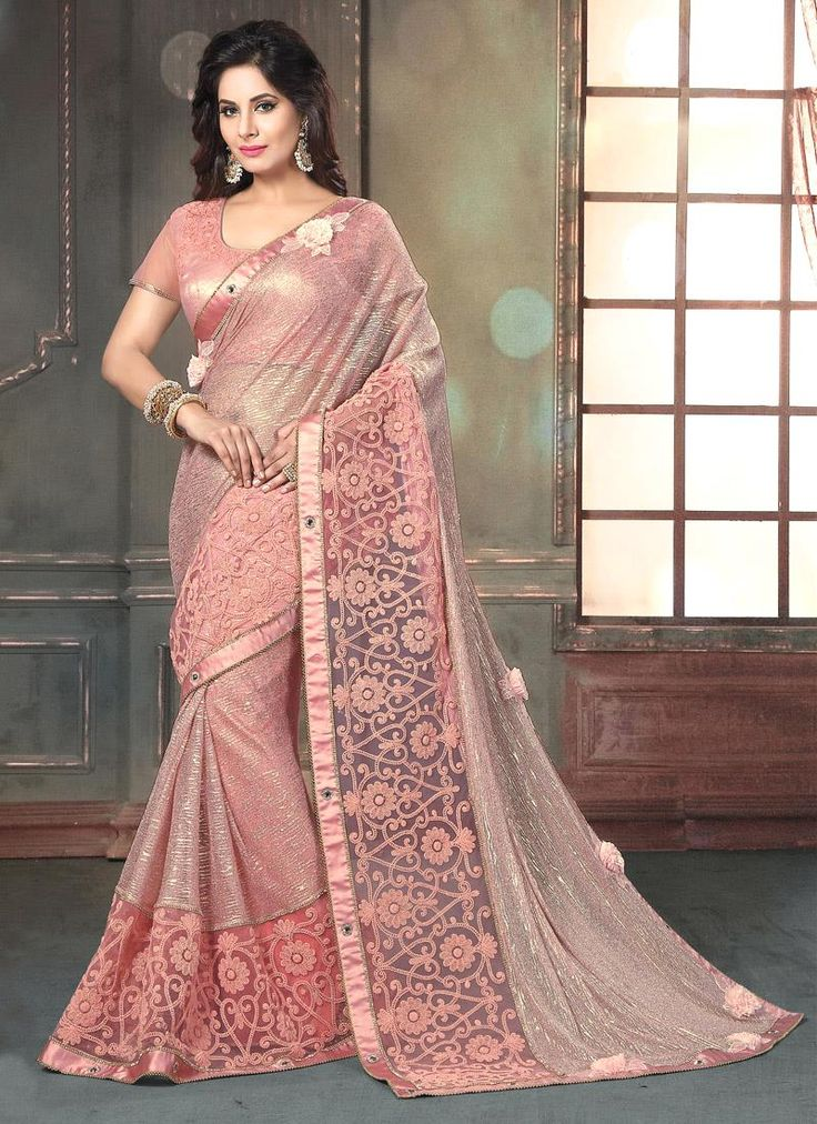 Buy from the latest range of designer collection of saree. Buy this fancy fabric classic designer saree for bridal and wedding.