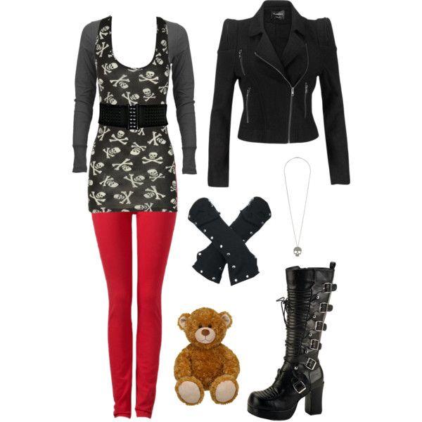 """Lost Girl Fashion - Kenzi 4"" by ladysprinkles on Polyvore"