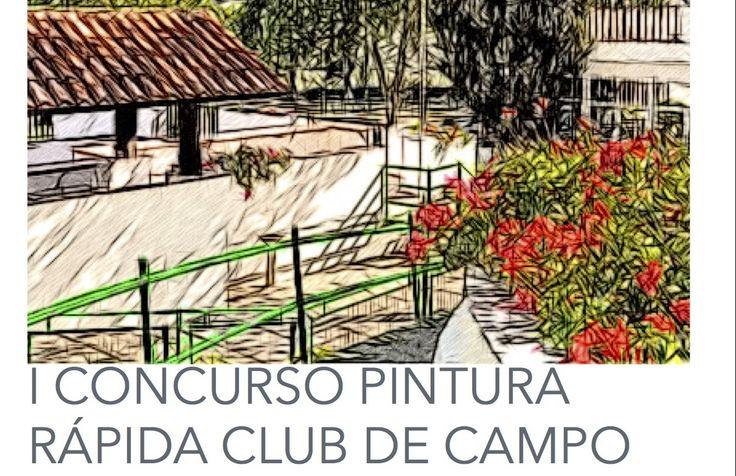 Más de treinta participantes, en el concurso de pintura rápida del Club de Campo