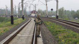 В Донецкой области взорвали железнодорожные пути