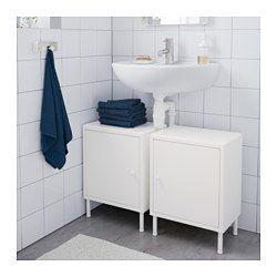 IKEA - DYNAN, Szekrény+ajtó, , Gyorsan tudsz személyes tárolóhelyet létrehozni több szekrény segítségével, mert könnyen össze- és szét lehet szerelni őket.Ha nagyobb tárolóhelyre van szükséged, több szekrényt illeszthetsz össze vízszintesen.Tökéletesen illik a mosdószekrény alá, kitűnő palackok, wc-papír és más kisebb tárgy tárolására, amit nem szeretnél szem előtt tartani.Lekerekített forma és sarkok, melyek által a bútor biztonságos a gyerekek és felnőttek számára is.Az állítható lábaknak…