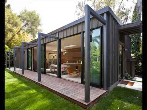 a lighter version of this shipping container exterior. Black Bedroom Furniture Sets. Home Design Ideas