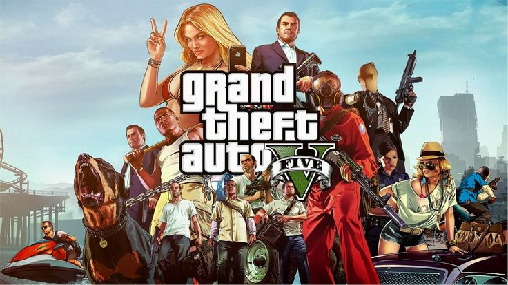 Cover Games Grand Theft Auto V