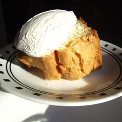 Coconut Cream Pound Cake.  I made mine with fresh coconut.  So good!