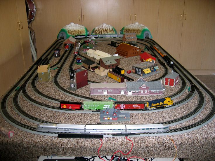 model train layouts | ... railroad capable of running 5 trains. CLICK THE IMAGE TO ENLARGE | Model Trains layouts | Pinterest : model railroad wiring - yogabreezes.com
