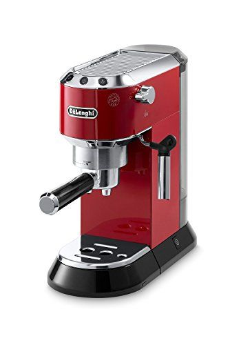 Special Offers - Delonghi EC680R DEDICA 15-Bar Pump Espresso Machine Red - In stock & Free Shipping. You can save more money! Check It (October 14 2016 at 02:21PM) >> http://coffeemachineusa.net/delonghi-ec680r-dedica-15-bar-pump-espresso-machine-red/
