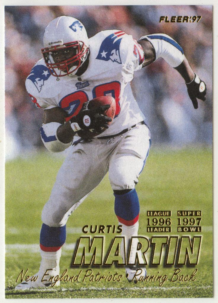 Curtis Martin # 145 - 1997 Fleer Football