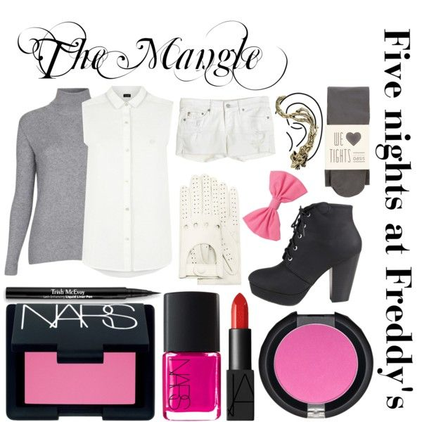 """""""Five nights at Freddy's inspired outfits #6 The Mangle"""" by tortured-puppet on Polyvore"""