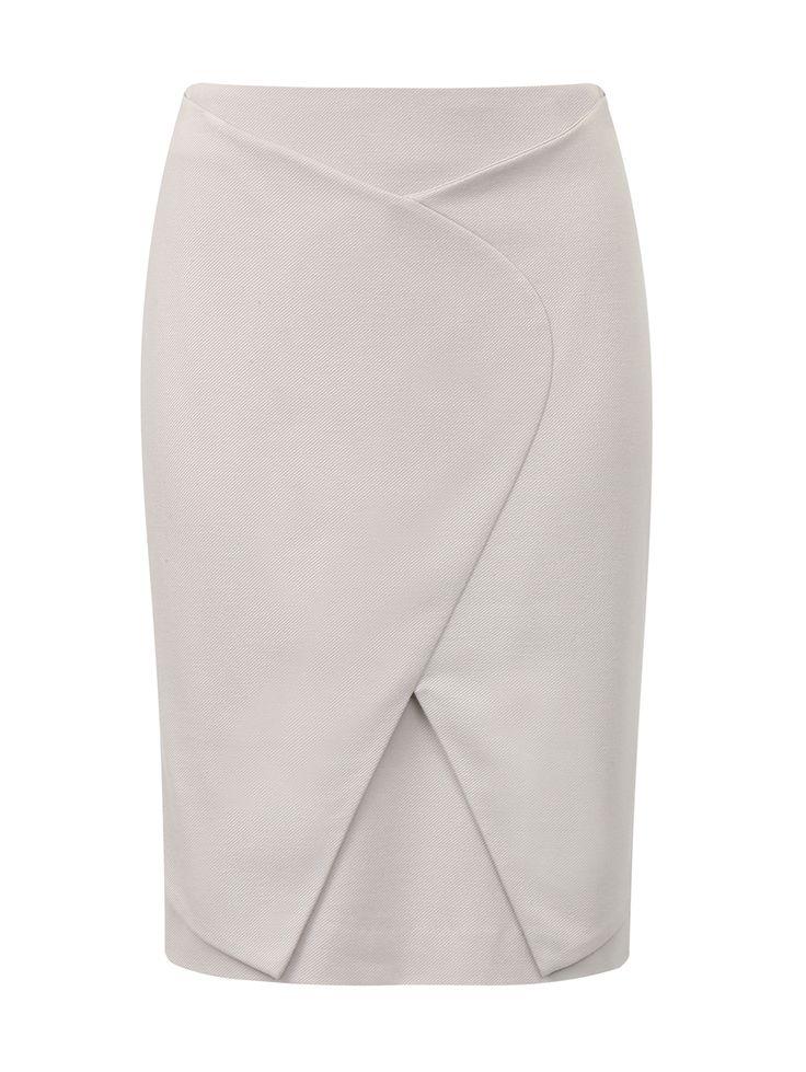Купить со скидкой Emporio Armani серая юбка-карандаш (82416) – распродажа в Боско Аутлет
