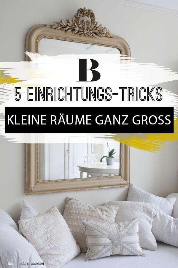Mit diesen 5 Tricks sieht deine Wohnung gleich viel größer und heller aus