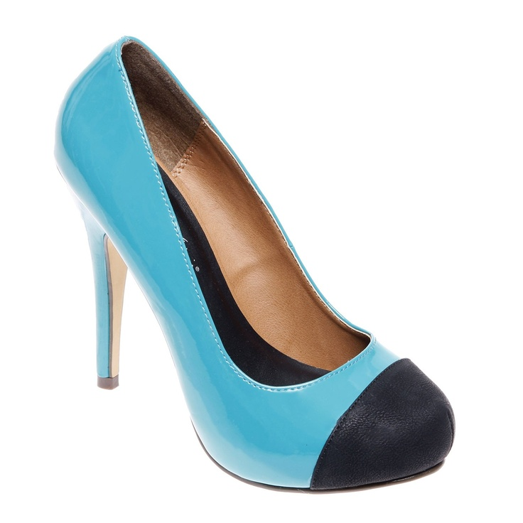 Michael Antonio Louie Pump.  Yay! A rounded toe shoe for us fat feet girls.  Love that it comes in multiple colors!