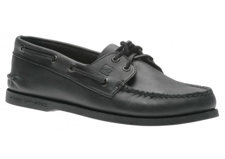 Sperry Top-Sider Men's A/O 2-Eye Shoes Black