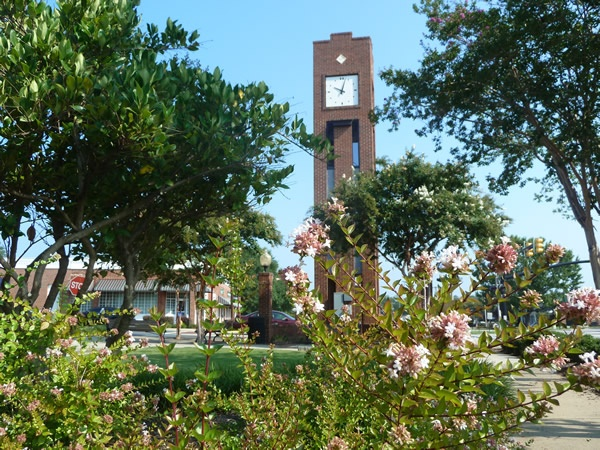 Clock Tower, Downtown Simpsonville SC